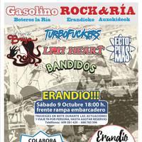 Gasolino Rock&Ria jaialdia egingo dute zapatuan Erandion