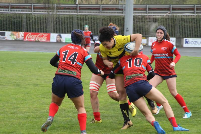 Iberdrola Ligari agur esan dio Getxo Rugby taldeak, azken partidu bikaina jokatuta
