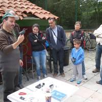 Hegaztien Mundu Eguna ospatuko dute zapatuan Bolue hezegunean