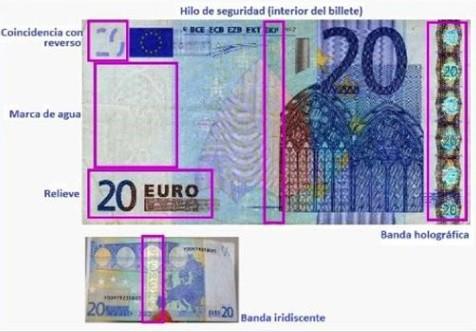 Sopelako Udaltzaingoak 20 euroko billete faltsu bat atzeman du