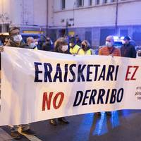 Lope de Vega kaleko eraikinaren eraisketaren aurka mobilizatuko dira bihar