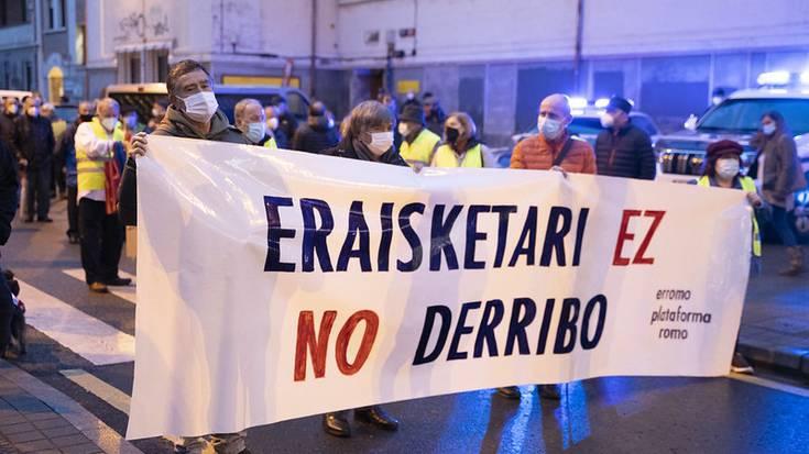 Lope de Vega kaleko udal-eraikinen eraisketaren aurka mobilizatuko dira gaur