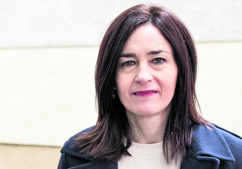 """Miren Dobaran Urrutia: """"Euskalgintzagaz elkarlanean gabiltza euskara kalean egon dadila bermatzeko"""""""