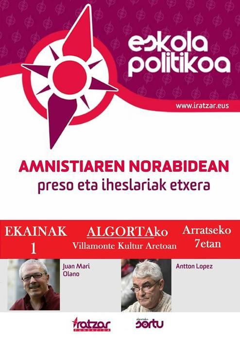 EPPK-ri buruzko hitzaldia