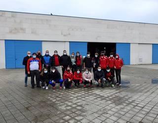 Barrika Piragua Taldeak hirugarren postua eskuratu du Euskadiko Neguko Txapelketan