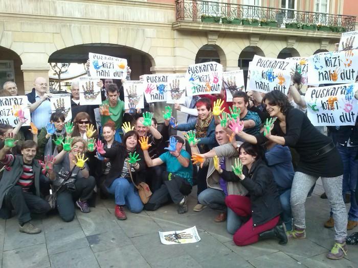 Erandiotik Iruñeko manifestaziora joateko autobusa ipiniko du Berbotsek