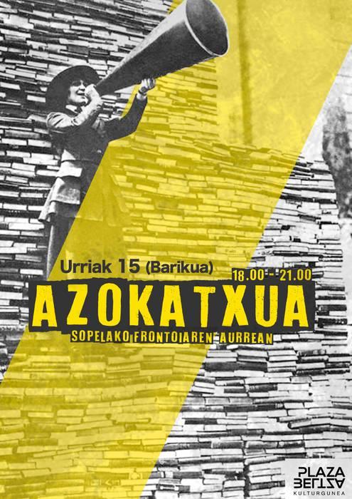 """Plaza Beltzaren """"Azokatxua"""""""