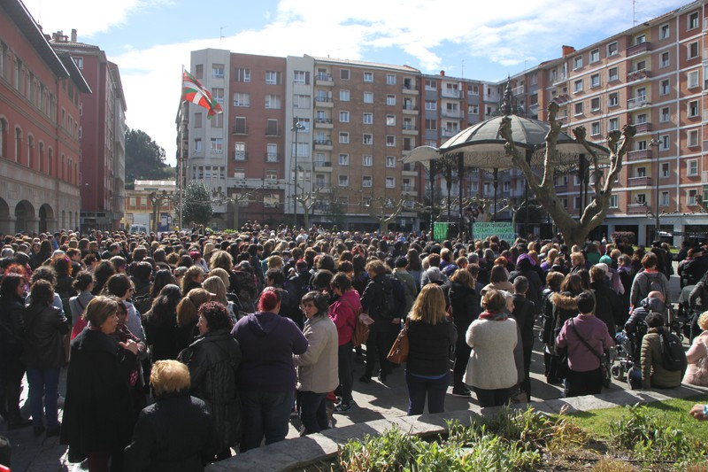 """Greba """"masiboa"""" izan da mugimendu feministarentzat"""