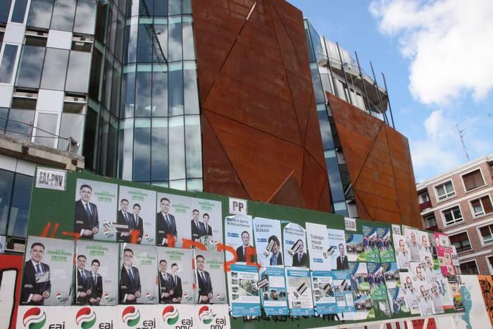 Hurbileko politikaren txanda: hasi da udal-hauteskundeen kanpaina