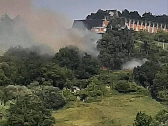 SOS Kurkudik kezka azaldu du Domingotarren komentuaren inguruan gertatutako suteak direla eta