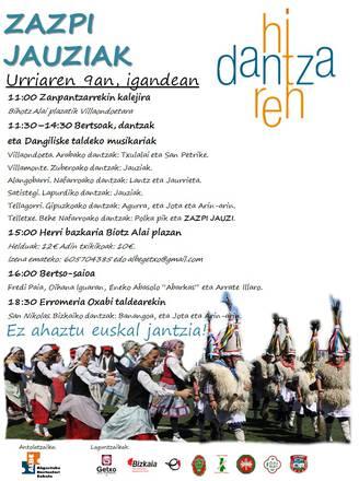 HITZA DANTZAN, HERRIA MARTXAN!!!