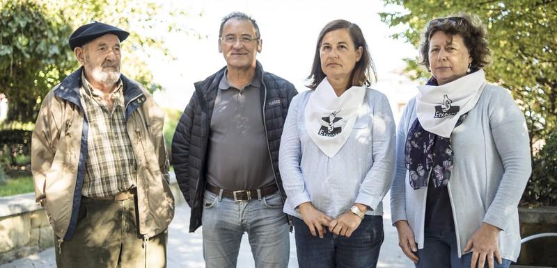 Javi Gallaga presoaren hiru lagunek istripua izan dute bisitan