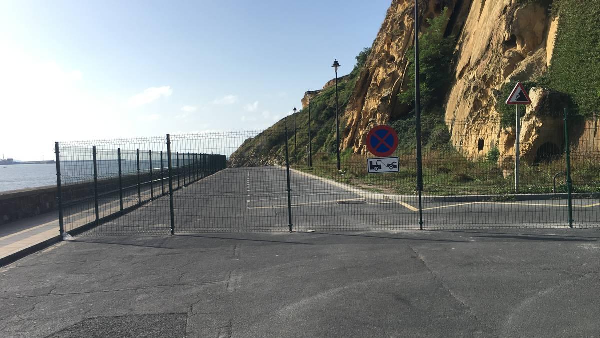 Portu Zaharreko ezpondari eusteko eta bidearen azken zatia urbanizatzeko obrak esleitu dira