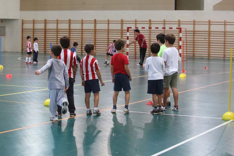 Getxoko kirol-klubek 14 campus eskainiko dituzte Aste Santuan