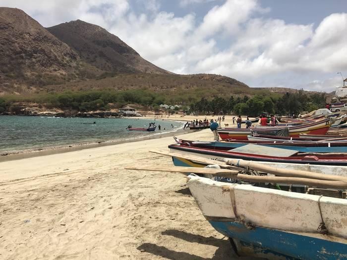Cabo Verdeko arrantzaleak