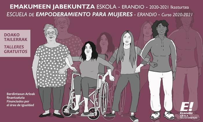 Emakumeen Jabekuntza Eskolak badu egitaraua 2020/2021 ikasturterako