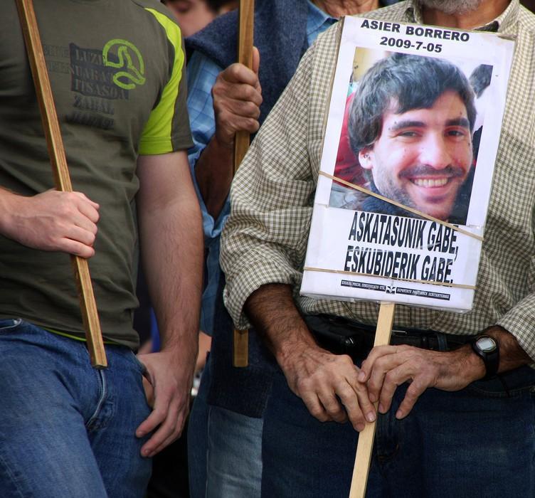 Asier Borrero preso algortarra gerturatu du Frantziak