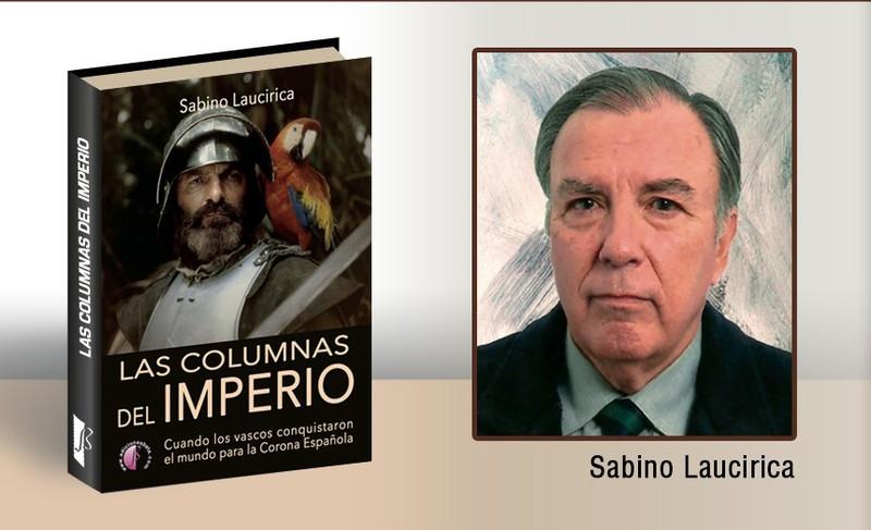 """""""Las columnas del impero"""" liburua aurkeztuko du barikuan Sabino Laucirica plentziarrak"""
