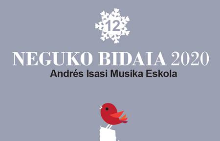 """Musika klasikoa, jazza, lirika, mariatxiak eta rocka nagusi """"Neguko Bidaia"""" kontzertuen zikloaren 12. edizioan"""