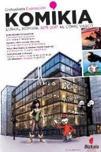 Erakusketa: Euskal komikia, 1975-2017
