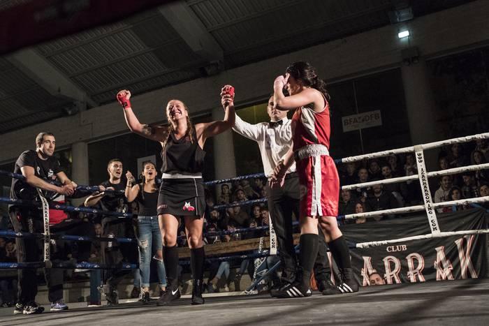 Kick-boxingeko eta boxeoko erakustaldiak izango dira zapatuan Faduran