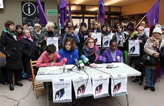Martxoaren 8an, greba feminista, nor izateko