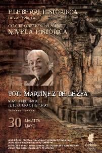 Hitzaldia: Novela histórica: ¿literatura o historia?