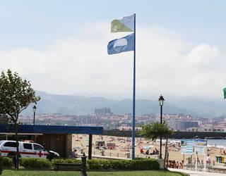 Ereaga eta Arrigunaga, Bizkaiko hondartza bakarrak bandera urdinagaz