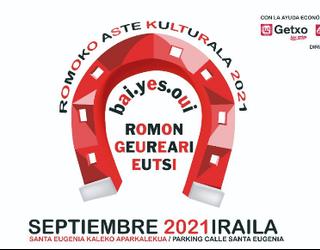 Irailaren 2tik 5era izango da Itzubaltzeta/Romoko Aste Kulturala