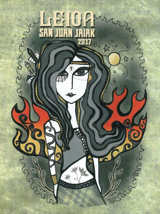 Leioako San Juan jaietako kartelak hauta daitezke Interneten