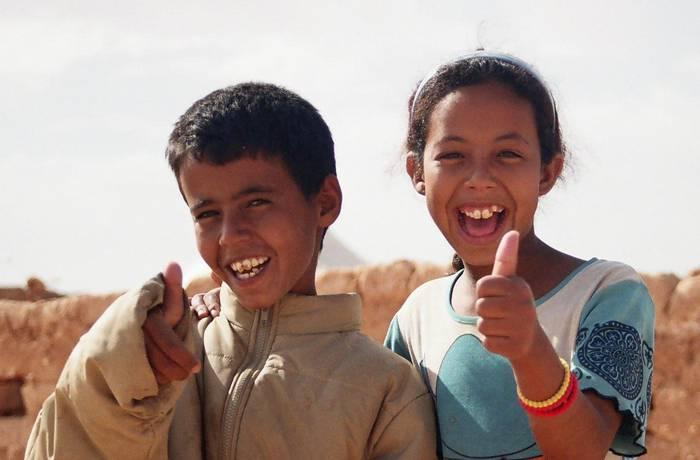 Elkartasun mezuak, hodeietatik Saharar herrialdera