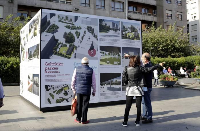 Areetako Xake plaza birmoldatzeko parte-hartze prozesuaren bozketa-fasea hasi da