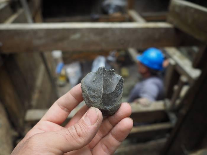 Neandertalen ibilia, Barrikako Aranbaltza aztarnategian barrena