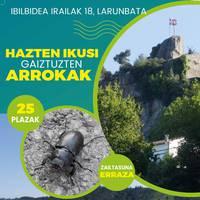 Urdulizek Txiri-Txiri martxaren formatua berritu du, dibulgazio geologikoko ibilbide bategaz