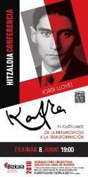 Hitzaldia: Kafka en castellano: De La metamorfosis a La transformación