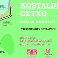Kostaldeko Getxo Toponimia ibilbidea