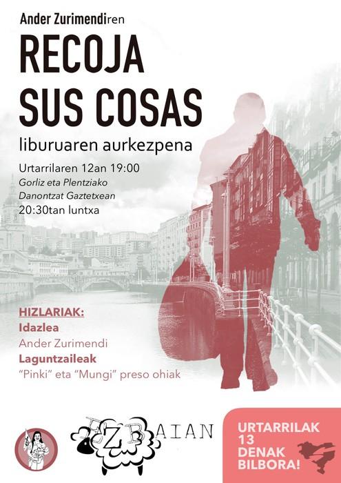 Euskal preso politikoen errealitatea ezagutzera emango dute barikuan Danontzat gaztetxean