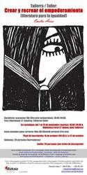 Tailerra: Crear y recrear el empoderamiento. Literatura para la igualdad