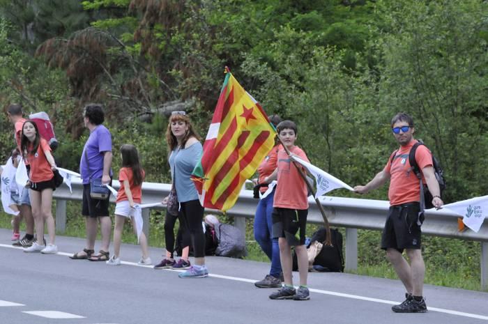 "Getxoko Gure Esku dago: ""Catalunya, seguim amb vosaltres"""