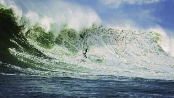 Dena prest Punta Galea Challenge olatu handien surf lehiaketaren 14. ediziorako
