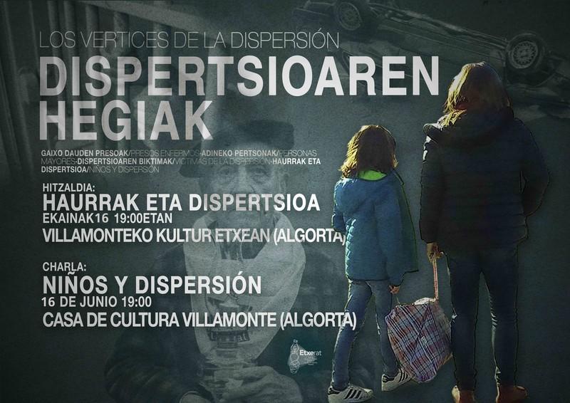 """""""Haurrak eta dispertsioa"""" dokumentala eta hitzaldia Algortan"""