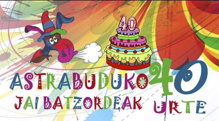 Astrabuduko Jai Batzordeak dokumental bat egin du, bere 40. urteurrena dela eta
