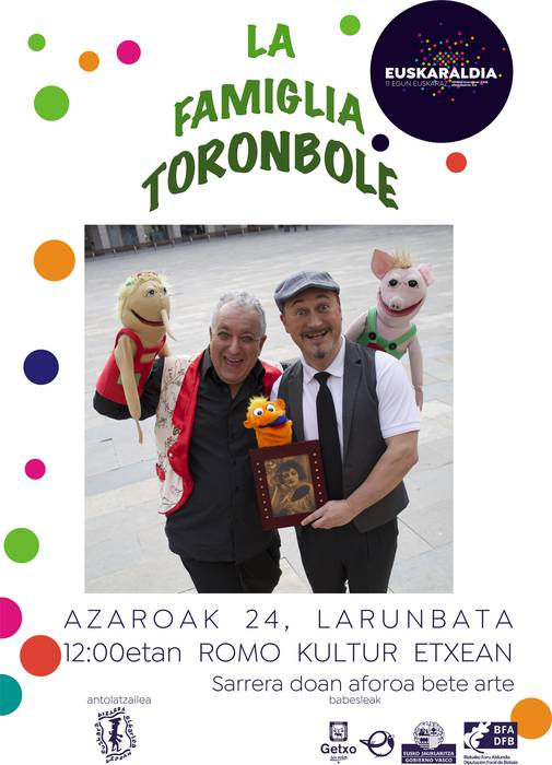 La famiglia Toronbole ikuskizuna