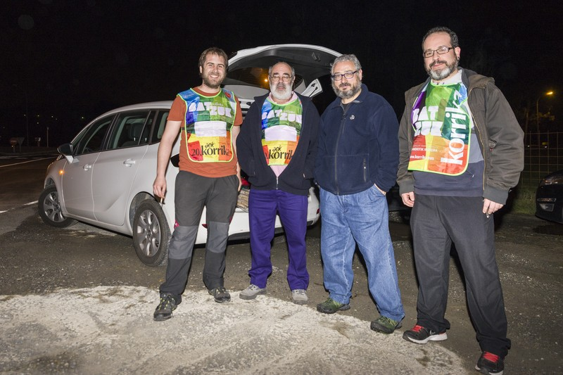 Korrika, Uribe Kostan barrena -