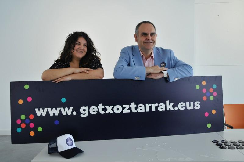"""""""24 ordu euskaraz"""" ekimena aurkeztu dute Getxon"""