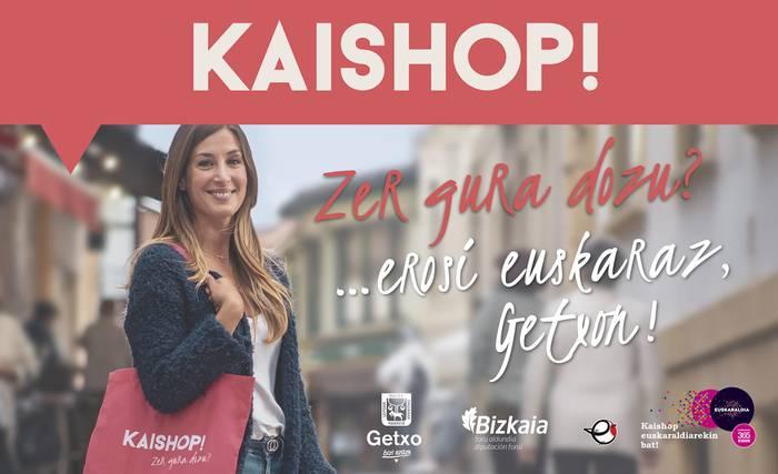 """""""Kaishop, erosi euskaraz"""" kanpainak dendetan euskaraz eskatzeko sentsibilizazioa areagotzea lortu du"""