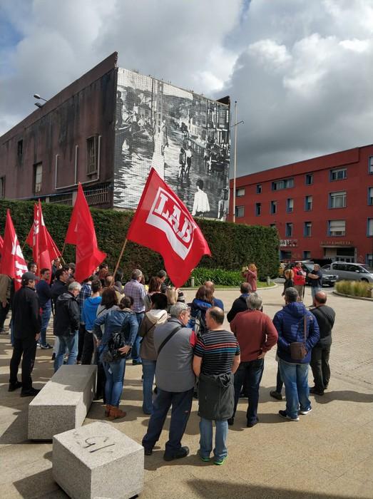 Cables Y Alambres enpresan ematen den LABen aurkako jazarpen sindikala salatu dugu - 3