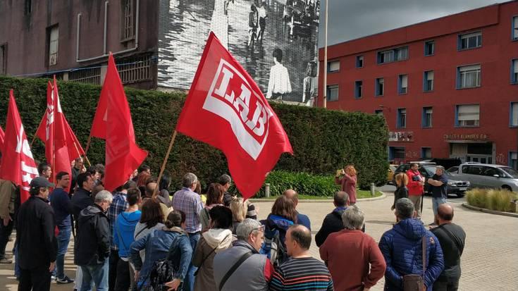 Cables Y Alambres enpresan ematen den LABen aurkako jazarpen sindikala salatu dugu
