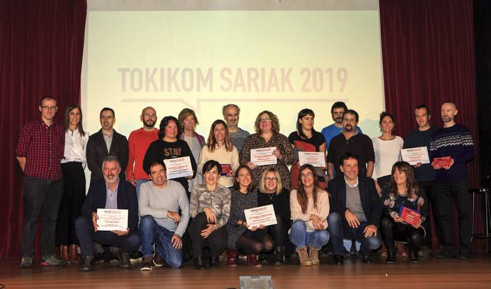TOKIKOM Sariek badituzte irabazleak!