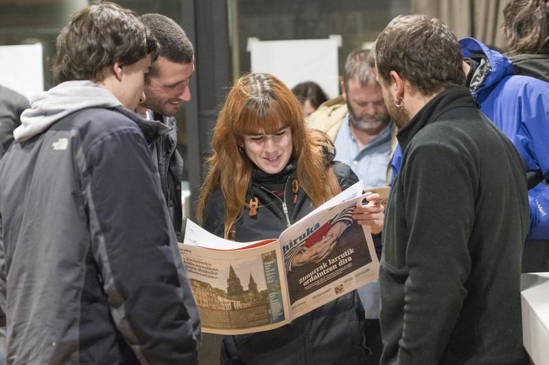 Gazteen artean euskal kultura sustatzeko, AzeGazte ekimena sortu dute Algortan